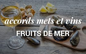 accord vins et fruits de mer