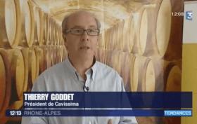 Cavissima intervient pour parler investissement dans le vin sur France 3