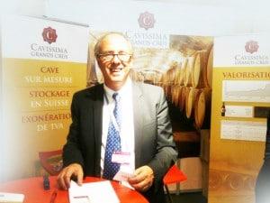 Thierry Goddet de Cavissima présent au Salon Patrimonia