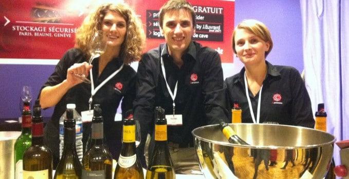 dégustation du vin mystère au Grand tasting 2013