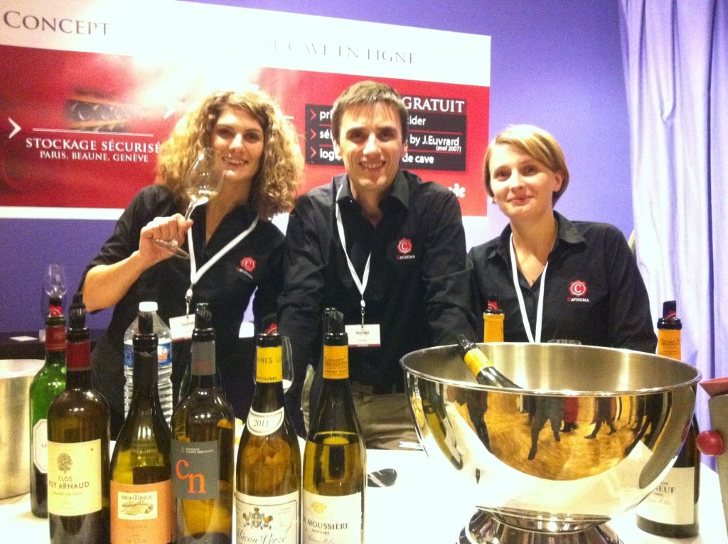 Cavissima au salon du vin du grand tasting 2013 for Salon du vin nancy
