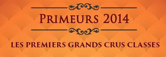 Découvrez les Premiers grands Crus classés 2014 de Bordeaux