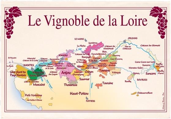 Les vins de la Loire