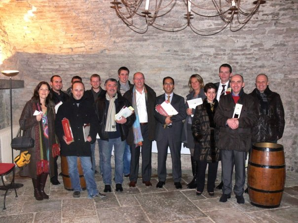 Partenaires, actionnaires et équipes pour le lancement de Cavissima