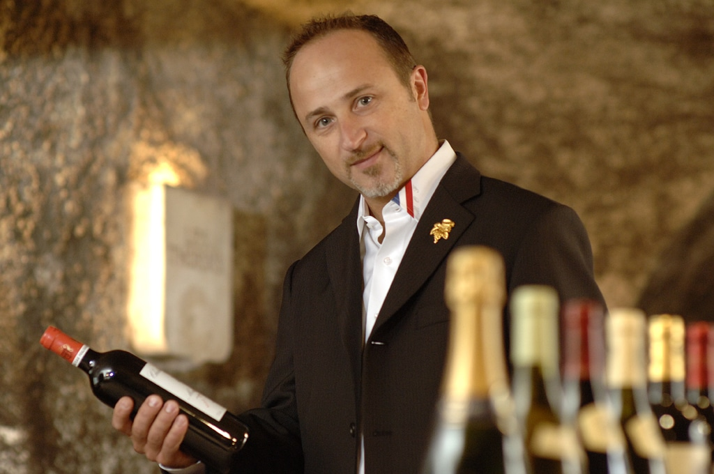 John Euvrard a constitué la carte des vins de Cavissima avec 350 références