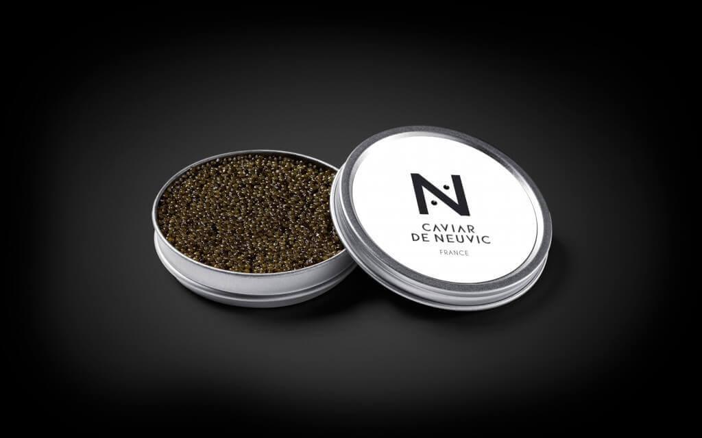Caviar et grands crus