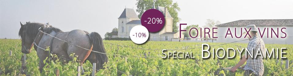 foire aux vins 2013 spéciale Biodynamie