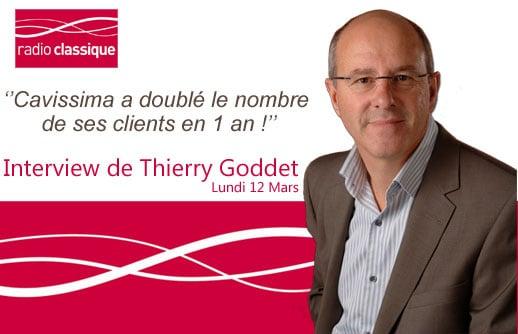 Thierry Goddet explique l'investissement dans le vin sur Radio Classique