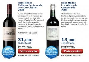 Découvrez la Ventes privées vins de Cavissima