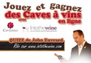 Jouez avec Cavissima et gagnez des caves à vins