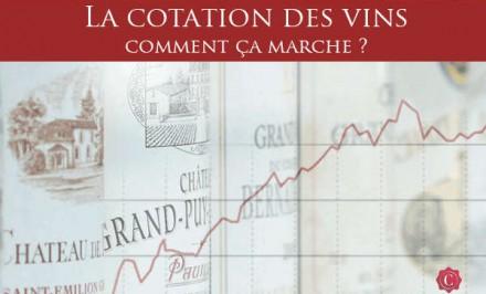 Comment comprendre l'évolution de la cotation des vins pour estimer la valeur de sa cave ?