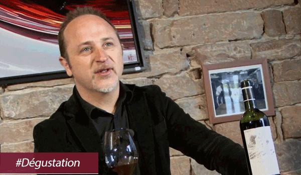 John Euvrard nous a prioposé une dégustation des vins du Rhône lors de la dernière soirée organisée par Cavissima !