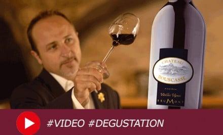 Dégustation du Madiran Château Bouscassé Vieilles Vignes 2007 commentée en vidéo