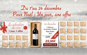 Le calendrier des vins par Cavissima