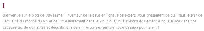 Description Cavissima