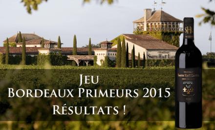 Découvrez la note RVF et les gagnants du Jeu Bordeaux Primeurs 2015 organisé par Cavissima !