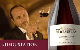 Beaujolais 2014 - domaine Pau Janin et Fil - Tremblay
