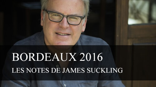 James Suckling note les Bordeaux Primeurs 2016 - cavissima
