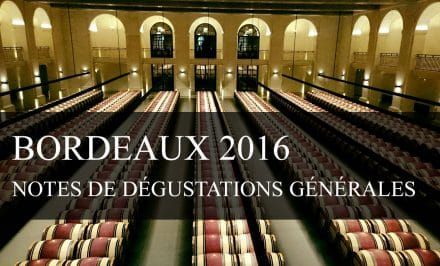 Notes de dégustation 2016 Brane Cantenac - cavissima