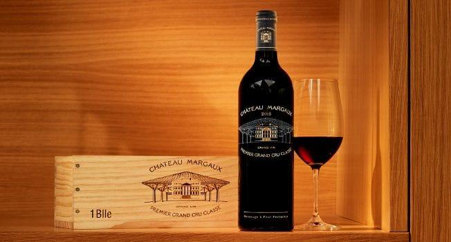 Château Margaux 2015 - Bouteille Collector