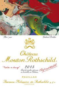 Chateau Mouton Rothschild 2015