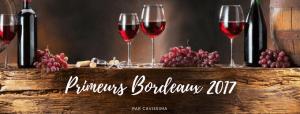 Primeurs Bordeaux 2017 par Cavissima