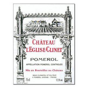 étiquette vieillie du Château
