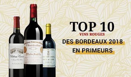 TOP10 Rouges Primeurs Bordeaux 2018