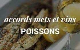 les accords mets et vins poissons