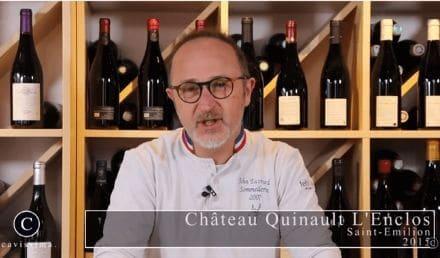 Dégustation de Quinault l'enclos 2015