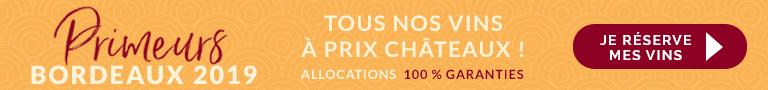 Vins Bordeaux primeurs 2019