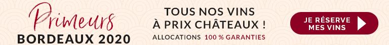 Vins Bordeaux primeurs 2020