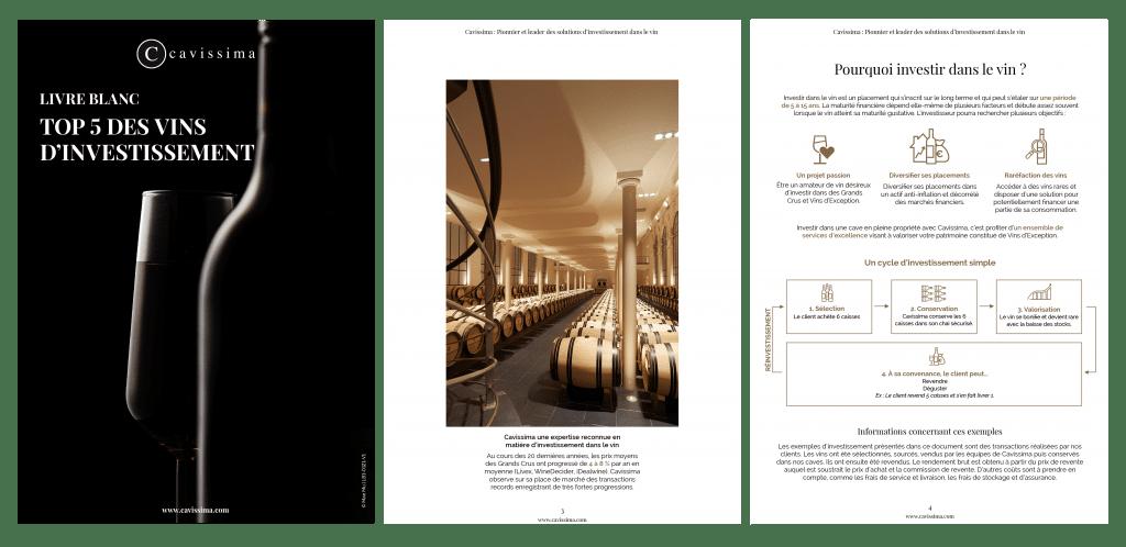 Top 5 des vins d'investissement
