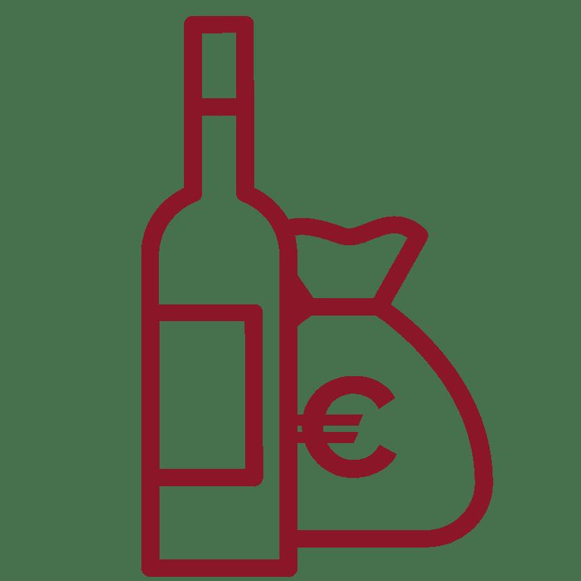 Pictogramme revente du vin