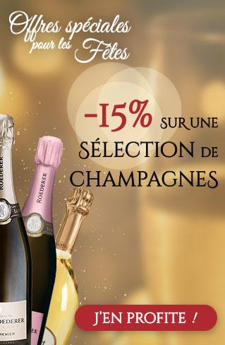 petits prix sur les champagnes