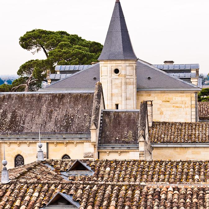 Vue du Château Cheval Blanc